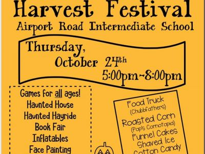 Halloween/Harvest Activities Scheduled; See Calendar of Upcoming Holiday Events in Our Area