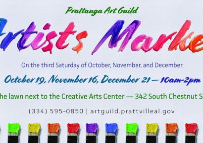 Prattauga Art Guild to Host Artists Market Saturday; One-Of-A-Kind Pieces Available