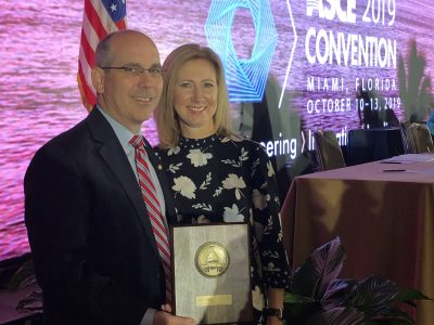 Senator Clyde Chambliss named Outstanding Public Official for 2019 by the ASCE