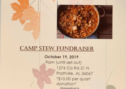 Old Kingston in Autauga County to Hold Historical Cemetery Camp Stew Fundraiser Saturday