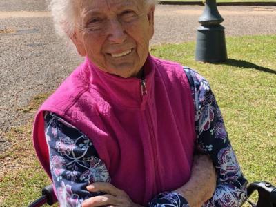 Meet Ms. Ella McClain Our Senior Spotlight
