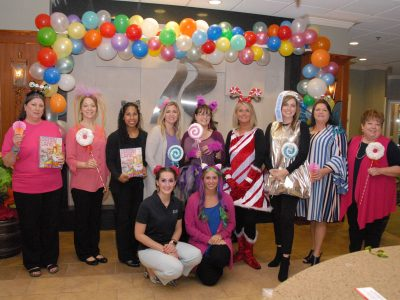 Area Business, Schools and Organizations Get Into the 'Spirit' with Costumes for Halloween