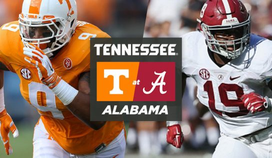Alabama vs Tennessee: Prediction
