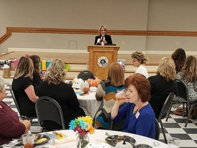 VP of Baptist Health Ambulatory Operations Speaker at Millbrook Chamber's Women in Business Luncheon
