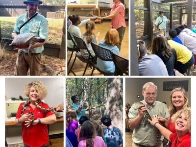 Millbrook's Alabama Nature Center Welcomes Goshen Students thanks to Max Credit Union