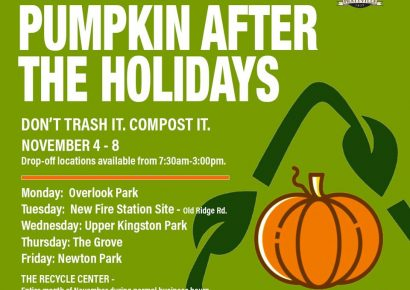 Don't Trash Your Pumpkin! Compost It! Prattville has Drop Off Points This coming Week
