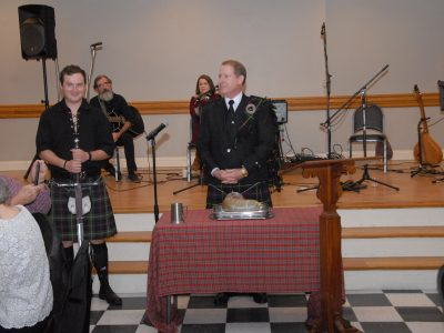St. Andrew's Day Scottish Dinner a Huge Success at the Millbrook Civic Center