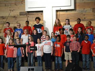 East Memorial Christian Academy Honors Multitude of Veterans at School Assembly Nov. 2