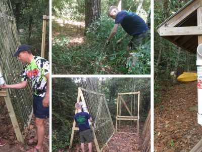 Local Life Scout Samuel LeMaster Exceeds Expectations with Eagle Project at Lanark in Millbrook
