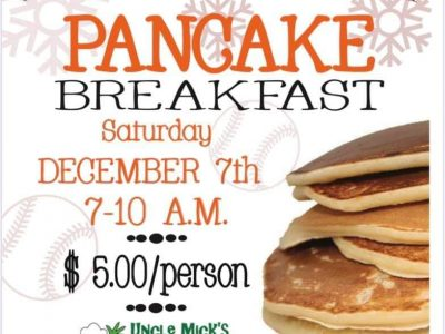 Uncle Mick's of Prattville to Host Pancake Breakfast Dec. 7 to Benefit SEHS Baseball Program