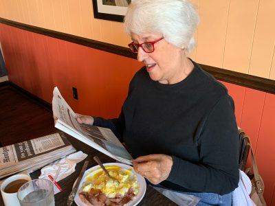 Prattville Resident, Peg McDonald, Starting Newspaper Reading Club