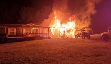 Family Grateful, Despite Destructive Fire Sunday in Deatsville (Elmore County); In Search of Rental