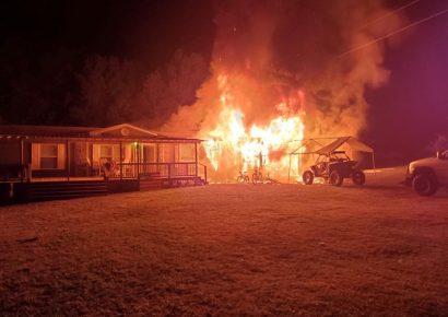 Family Grateful, Despite Destructive Fire Sunday in Deatsville (Elmore County); In Search of Rental