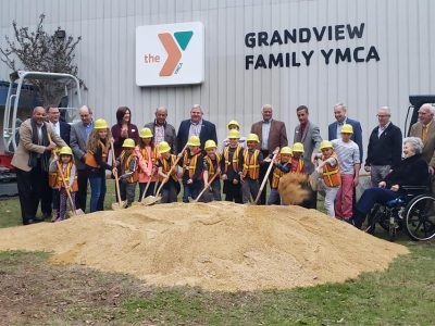 Groundbreaking Held at Grandview YMCA for Major Expansion Project; Officials Praise Organization's Commitment