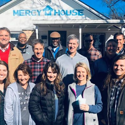 Centerpoint Fellowship Church Visits Mercy House to Serve Lunch