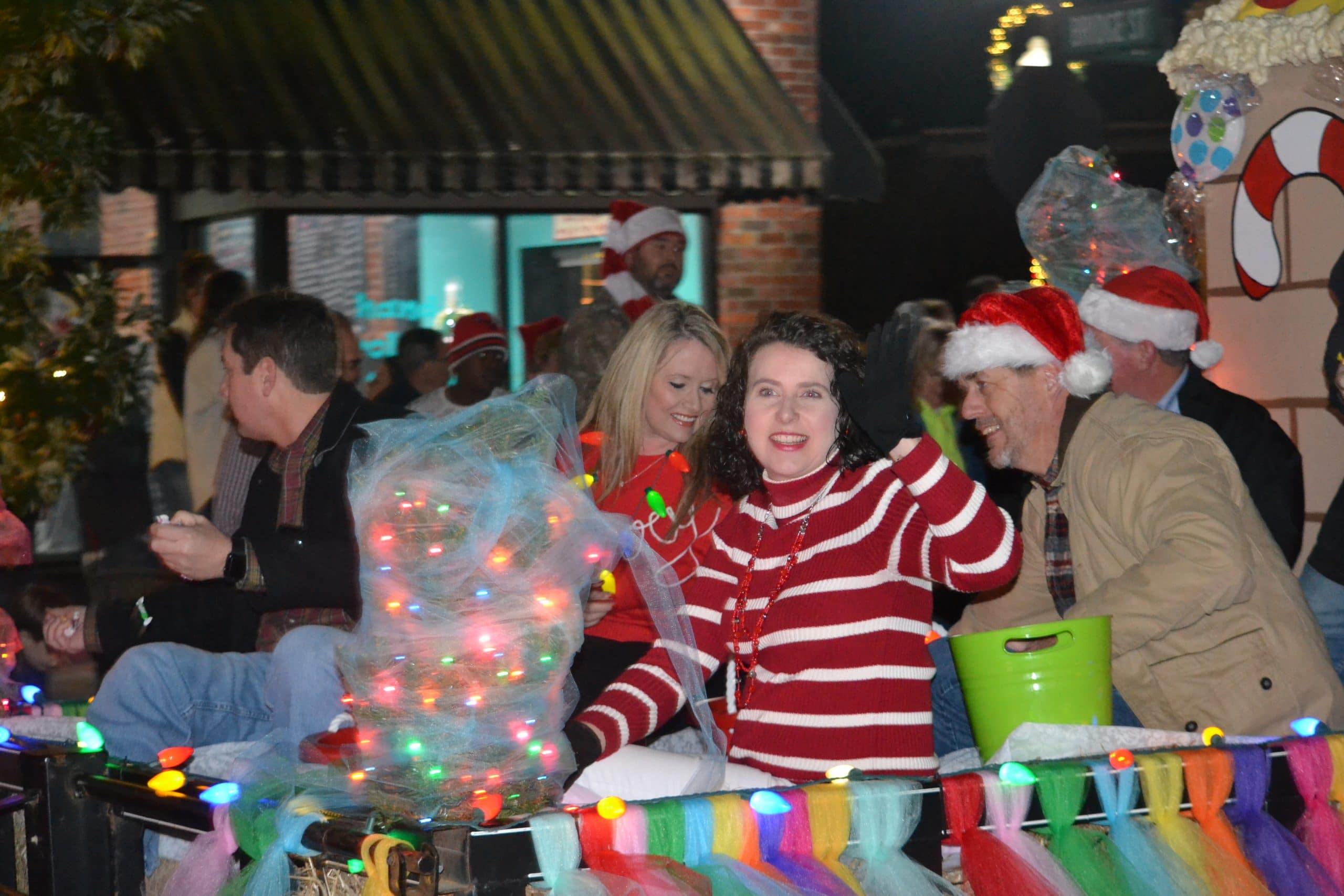 Prattville for Annual Nighttime Parade