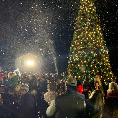 Prattville Christmas Tree Lighting Draws Big Crowd as the City Ushers in the Holidays