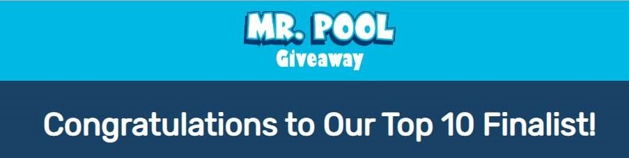 Area Residents in the Finals for a FREE Pool Giveaway from Mr. Pool of Montgomery; Read Their Stories, Vote for Your Choice