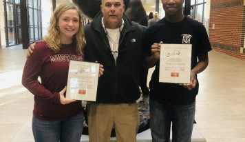 Jimmie Reeves, Maggie McDaniel Representing SEHS as 2020 Prudential Spirit of Community Award Honorees