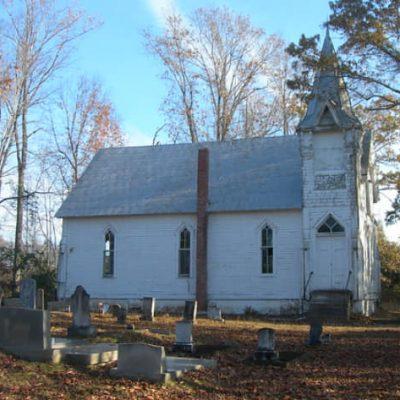 Help Needed to Save Vine Hill Presbyterian Church, Circa 1887, in Western Autauga County