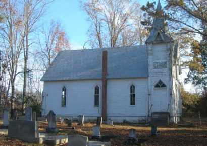 Help Needed to Save Vine Hill Presbyterian Church, Circa 1887, in Western Autauga County