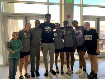 Prattville Christian Academy Athletes Manage a Meet and Greet with Auburn Player between Tournaments