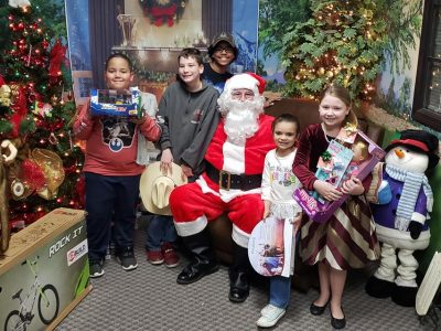 Family Home Furniture of Millbrook Surprises All Kids who Dropped Off Letters to Santa at Store