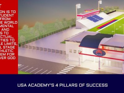 The USA Academy Reportedly Will Locate in Coosada, Says Founder Dusty DeVaughn with Focus on Athletics, Academics
