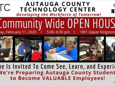 Autauga County Technology Center to Host Community Open House Feb. 11