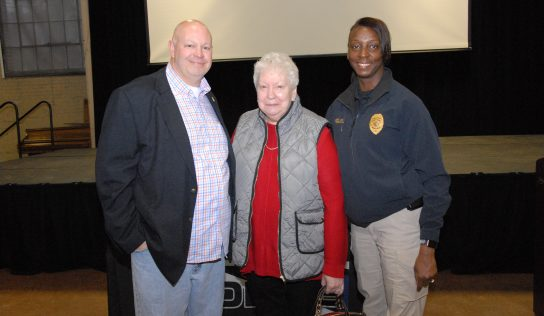 Skip Tallmage, Retired Lieutenant at Prattville Police Department, Honored at Doster Center