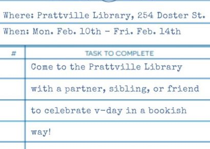 Autauga Prattville Public Library to Host Library Date Night Feb. 10