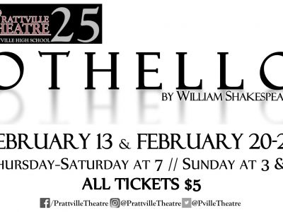 Theatre Group at Prattville High School to Present 'Othello' with Five Dates Available