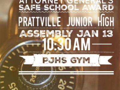 Prattville Junior High Wins Safe Schools Initiative Award for District 5; Celebration Set Monday