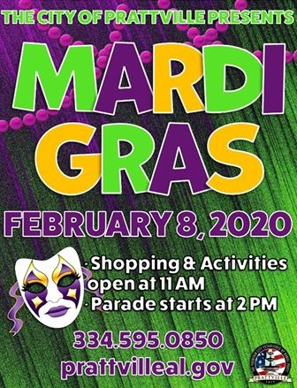 Prattville Mardi Gras Parade Will Honor Former Mayor C. Gray Price; Julie Price will be Grand Marshal