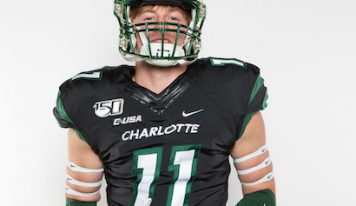 Taylor Thompson Signs Division 1 Football Scholarship with UNC-Charlotte