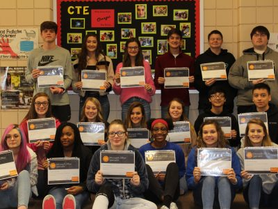 Autauga County Technology Center Students Earn Word 2016 Certification to Prepare for College/Career