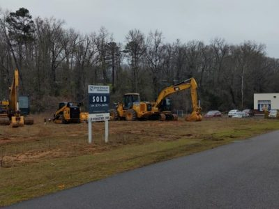 Dirt Work Begins at Taco Bell Location on Hwy. 14 in Millbrook