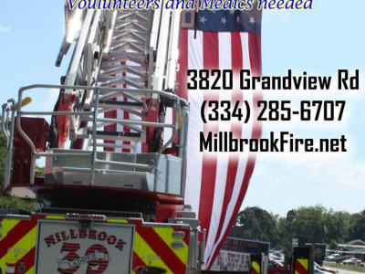 Millbrook Fire Department Recruiting Volunteers; Applications available