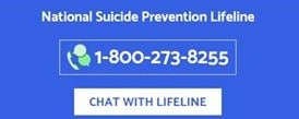 Sarah's Column: National Suicide Prevention Hotline is staffed 24 hours a day: 1-800-273-8255