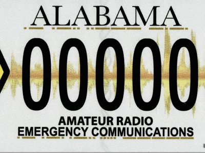 New License Plate Design Coming Soon For Amateur Radio Operators, Emergency Communications