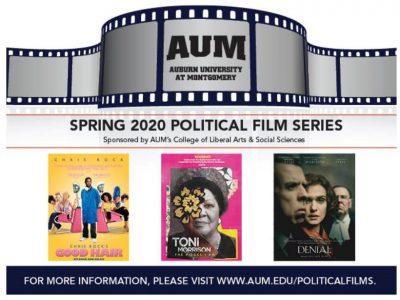 AUM Spring 2020 Political Film Series celebrates black history, women and Holocaust survivors