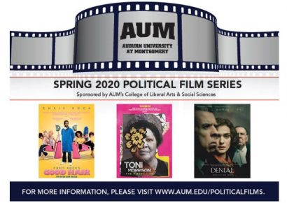 AUM Spring 2020 Political Film Series celebrates black history, women and Holocaust survivors