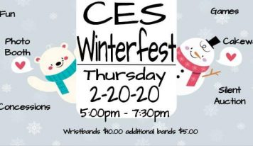 Coosada Elementary to Host 'WinterFest' Thursday from 5-7:30 p.m.; Wristbands $10 for Games