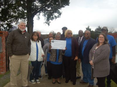 Alabama Historical Commission Presents Old Kingston Historical Cemetery Committee with $10,000 Grant for Cemetery Improvements