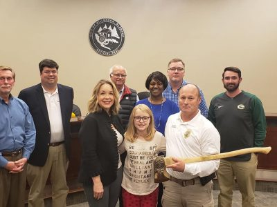 Millbrook Fire Department Receives Golden Axe from MDA for 'Fill The Boot' Campaign Funds