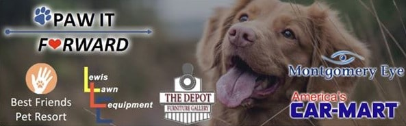 3rd Annual 'Paw It Forward' Begins Today; Drop Off Locations  Listed