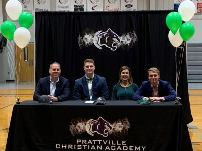 PCA Student Jake Bius Signs Letter Of Intent with Stetson University to Play Football