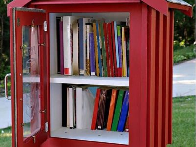 ARIS Asking for Help to Build 'Little Library,' and Book Donations