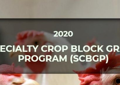 USDA Specialty Crop Block Grant Program Applications Being Accepted