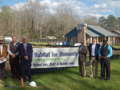 Habitat for Humanity Holds Groundbreaking Ceremony for Golds Family in Prattville